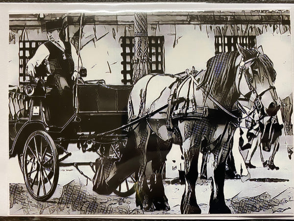 Horse & Cart Cards