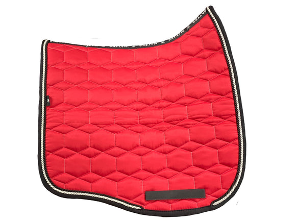 EA Mattes Cherry Dressage Euro - No Sheepskin