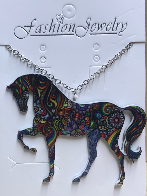 Horse Necklace Dress Jewellery