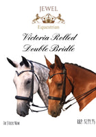 Victoria Rolled Double Bridle