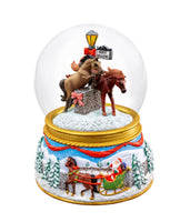BREYER STABLEMATES 2019 MERRY MEADOWS MUSICAL SNOW GLOBE