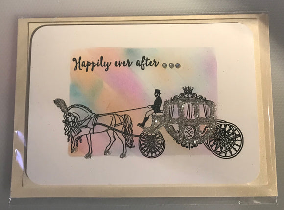 Card - Horse & Carriage