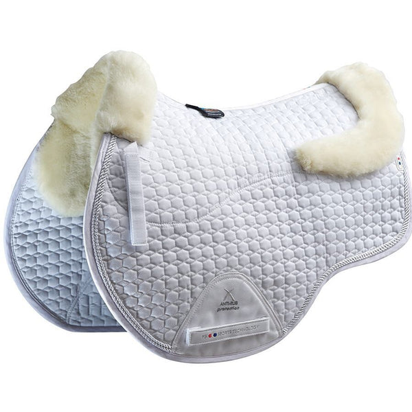 Merino Wool European Saddle Pad - GP/Jump Square