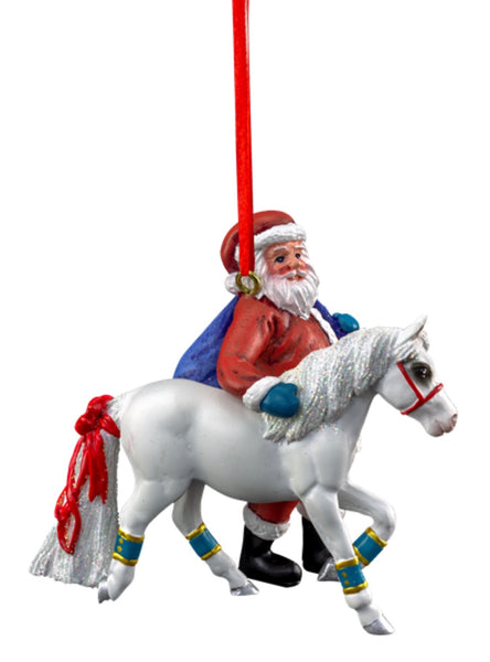 BREYER STABLEMATES 2019 SANTA ORNAMENT - PONY FOR CHRISTMAS