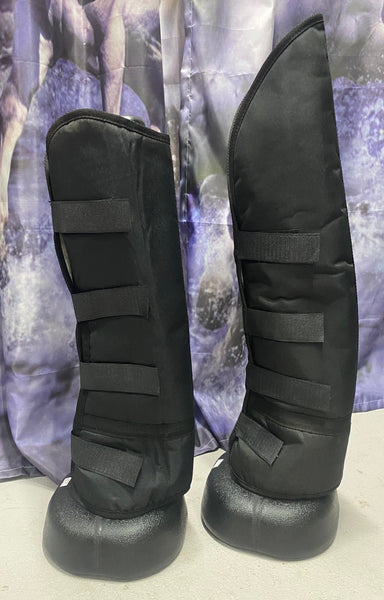 Black Float Boots