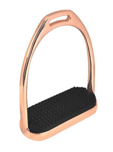 WALDHAUSEN STIRRUP IRONS FILLIS ROSE GOLD 12CM