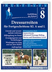 DVD FN TRAINING SERIES PART 8: ADVANCED DRESSAGE RIDING