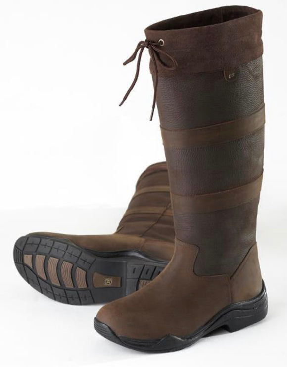 San Remo Long Boots Brown