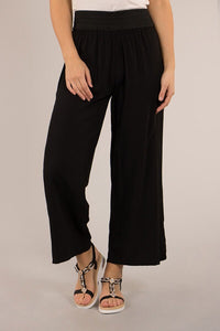 ELASTICATED WAISTBAND PANTS