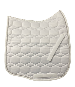 Mattes White Sheen Dressage Pad (small)