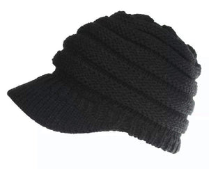 Peak Pony Tail Beanie