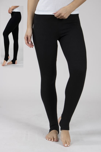 Stirrup Leggings with Glitter Flecking