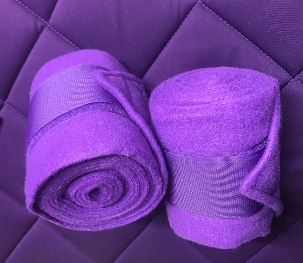 POLO BANDAGE SET 4 PURPLE