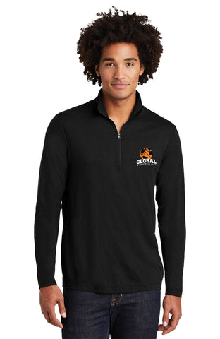 Sport-Tek PosiCharge Tri-Blend Wicking 1/4-Zip Pullover (Unisex)