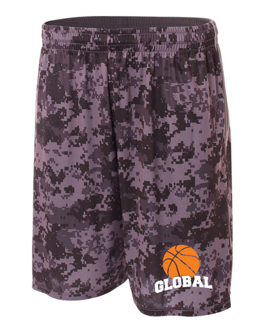 "10"" Camo Performance Short"