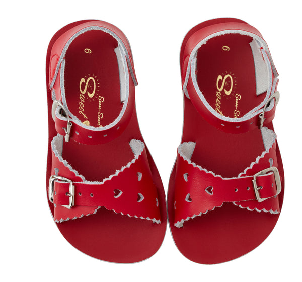 SALT WATER SANDALS | SWEETHEART | RED