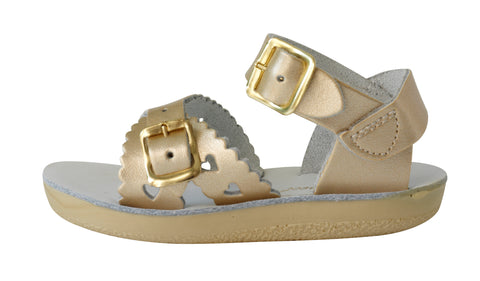 SALT WATER SANDALS | SWEETHEART | GOLD