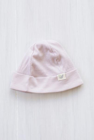 ROOTS & WINGS | MERINO WOOL BEANIE | DUSTY ROSE