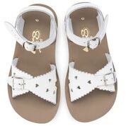 SALT WATER SANDALS | SWEETHEART | WHITE