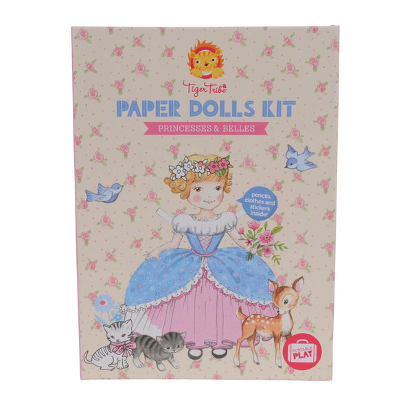 TIGER TRIBE | PAPER DOLLS KIT | PRINCESSES & BELLES