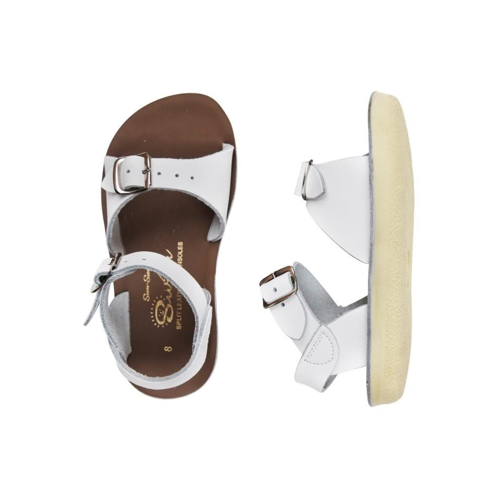 7bb9f1a13891 Salt Water Sandals Surfer White