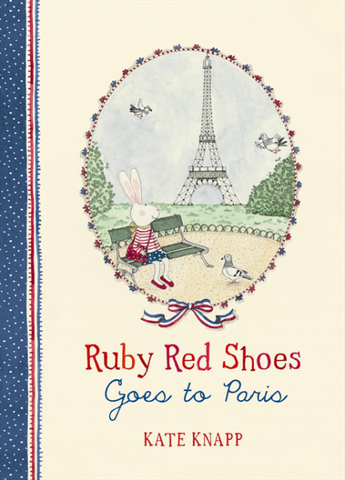 Ruby Red Shoes | Book | Goes To Paris