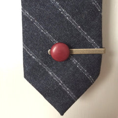 Ox Blood Tie Pin