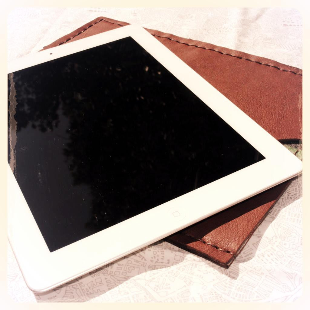 Handmade Leather IPad Case