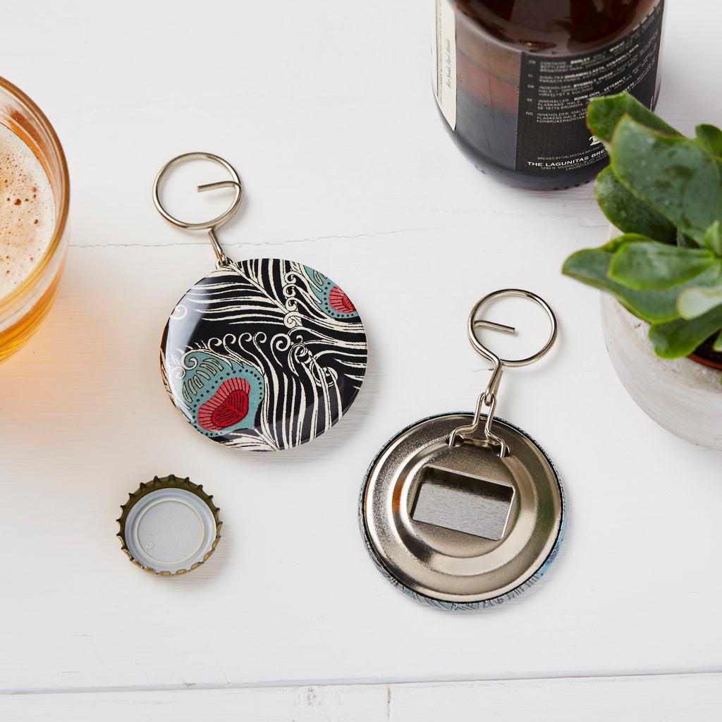Peacock Bottle opener and Keyring