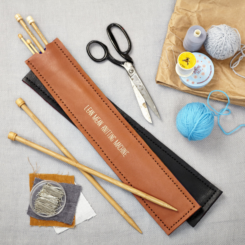 Personalised Knitting Needle Holder