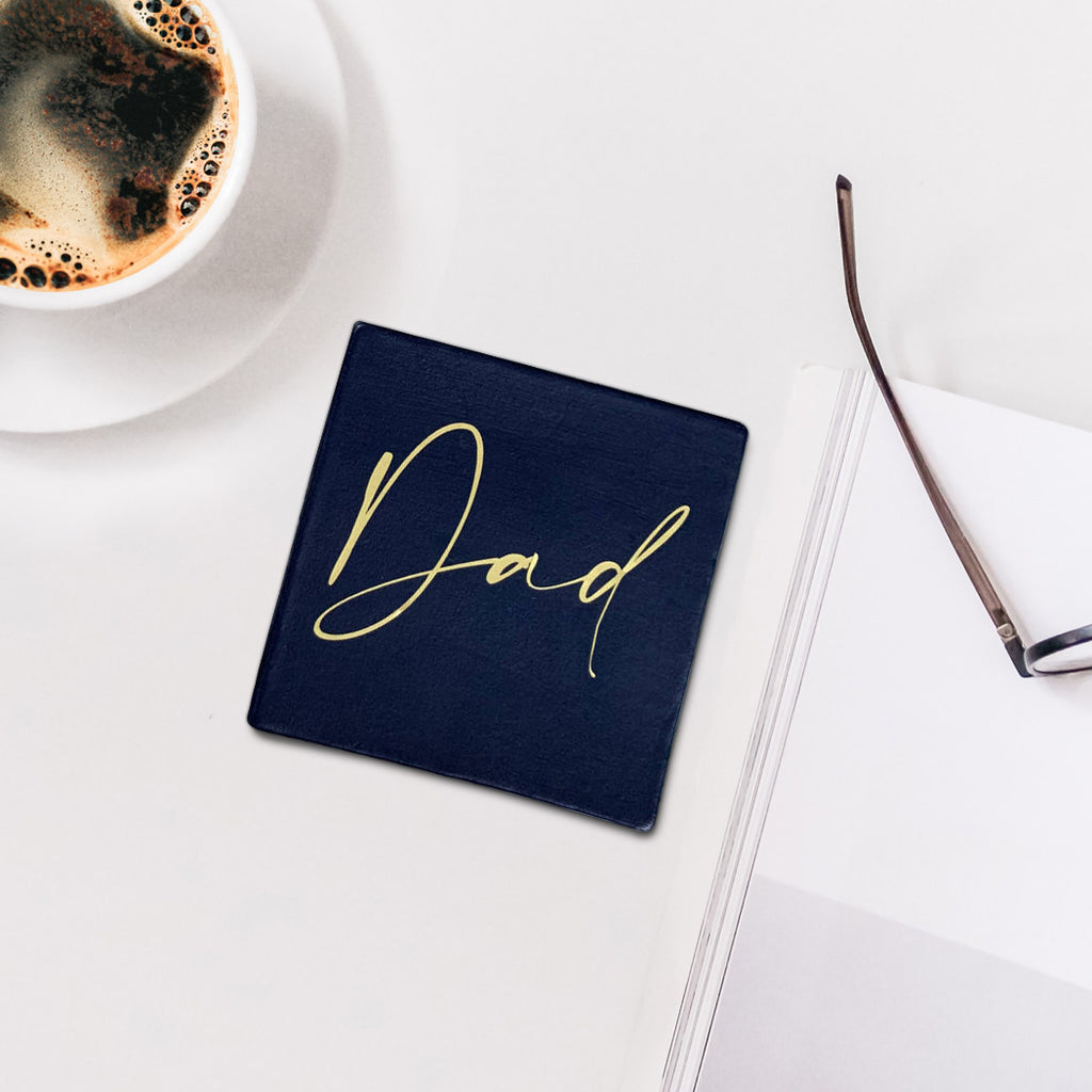 Personalised Father's Day coasters - the perfect, thoughtful gift for Dads