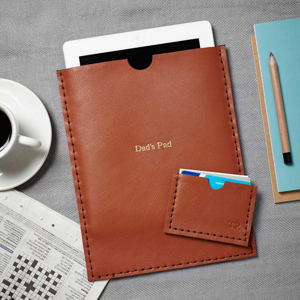 iPad and card holder by Parkin & Lewis