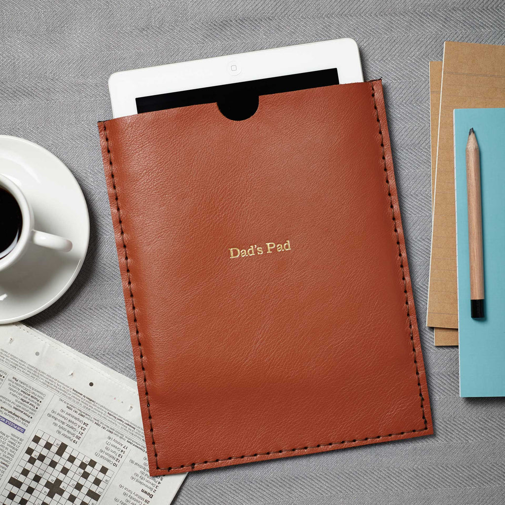 Personalised Leather Case for iPad