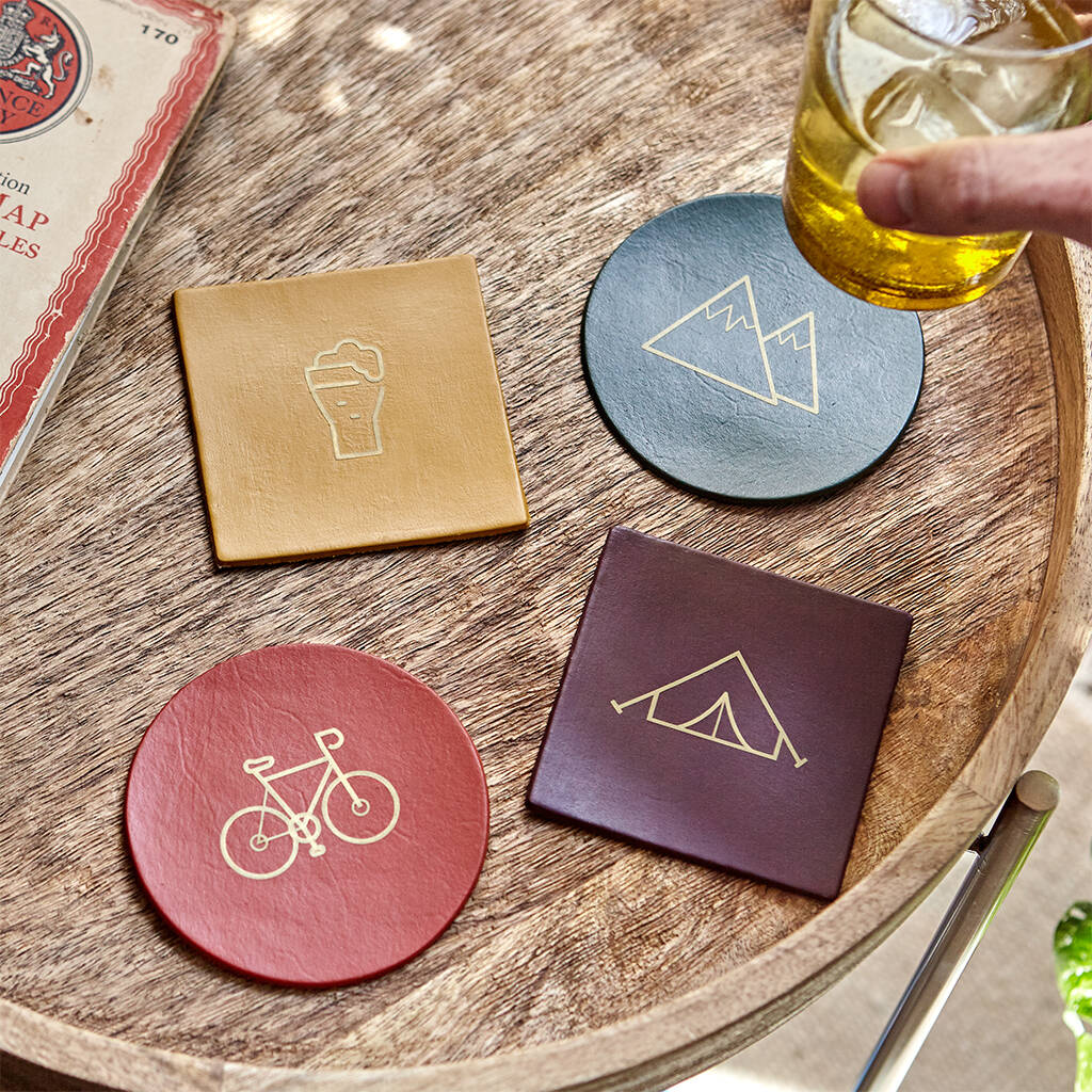 Personalised Symbol Hobby Coasters