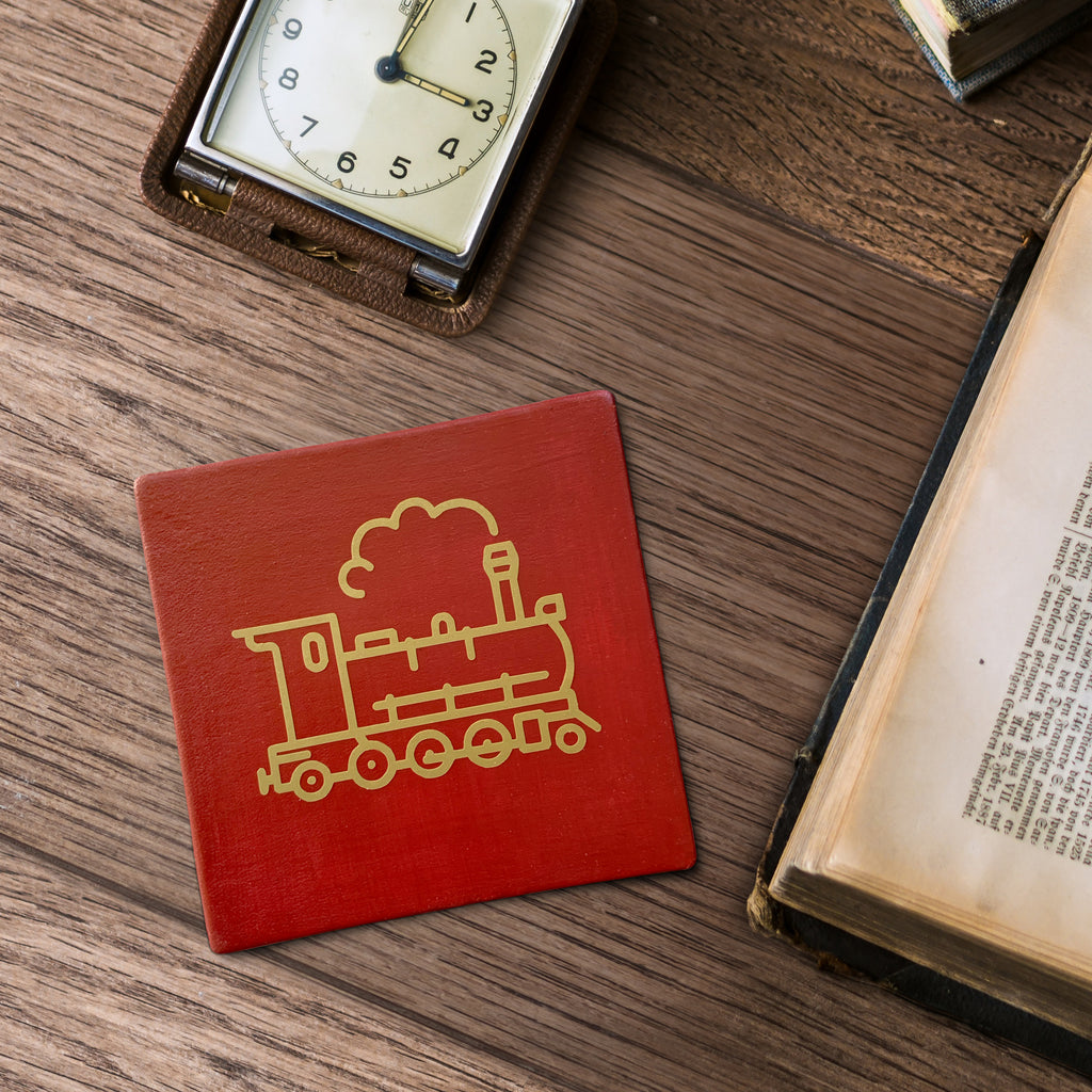 Everyone loves a steam train. Bring the railway home with a steam engine coaster.