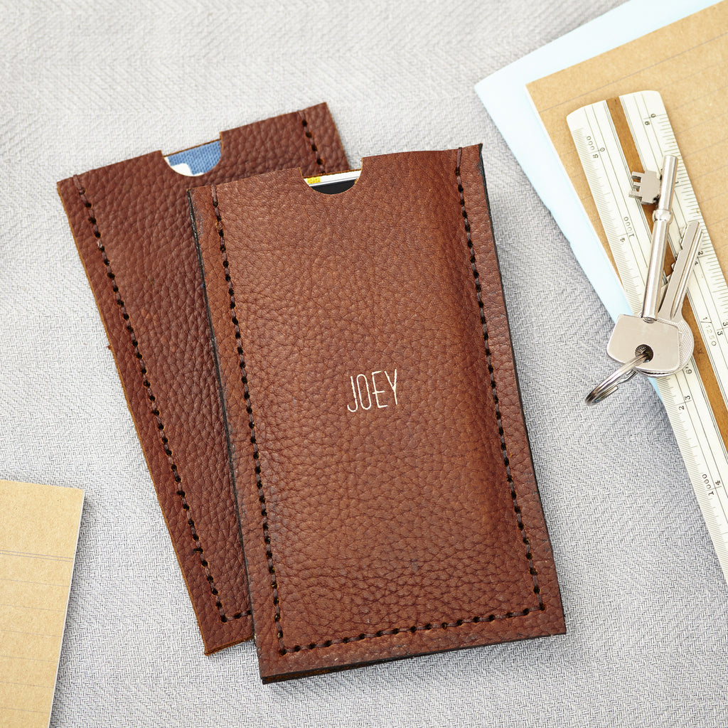 Handmade Leather iPhone 6 Case