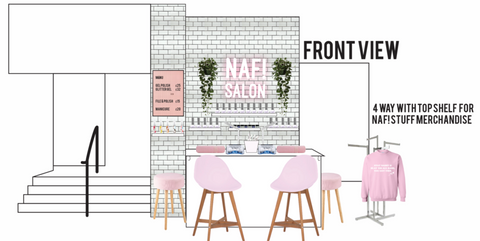 Initial plans of NAF! Topshop concession for Argyle St (Glasgow)