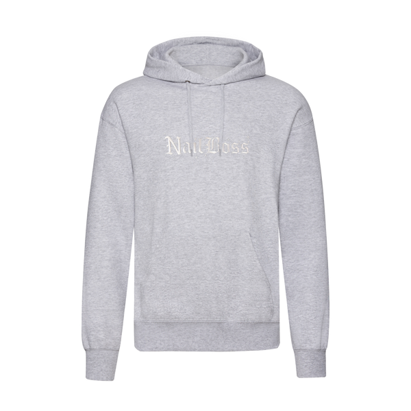 NailBoss Grey Soft Touch Hoodie