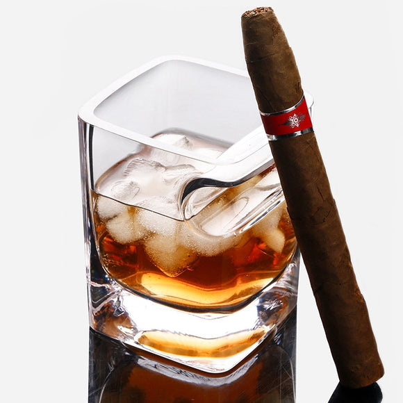 The Cigar Holder Glass