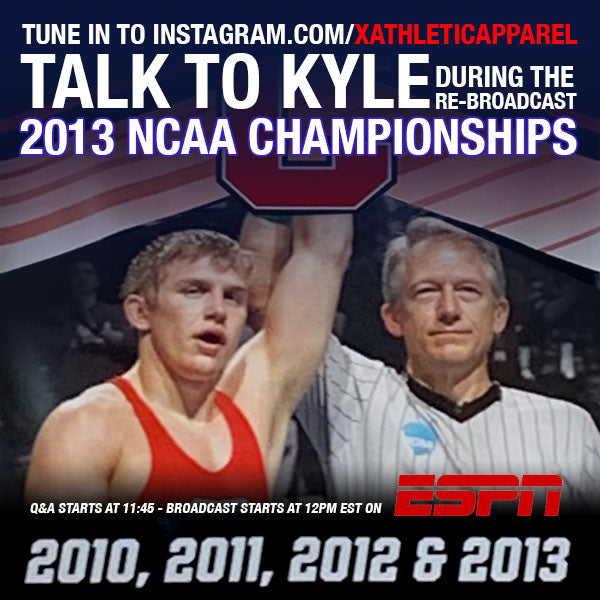 Kyle Dake To Live-Chat During NCAAs Re-Broadcast Sunday March 29!