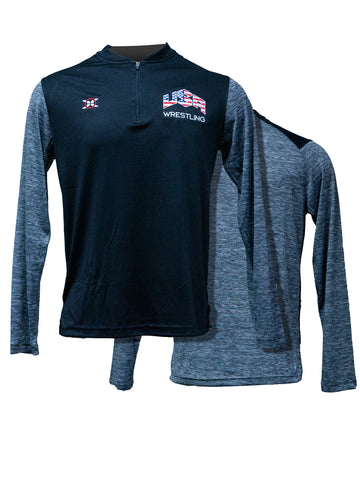 Team USA 1/4 Zip Pullover