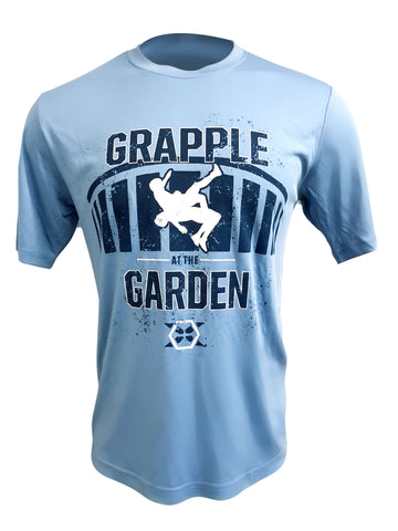 2017-2018 Grapple At The Garden Wicking Tee - X-Athletic