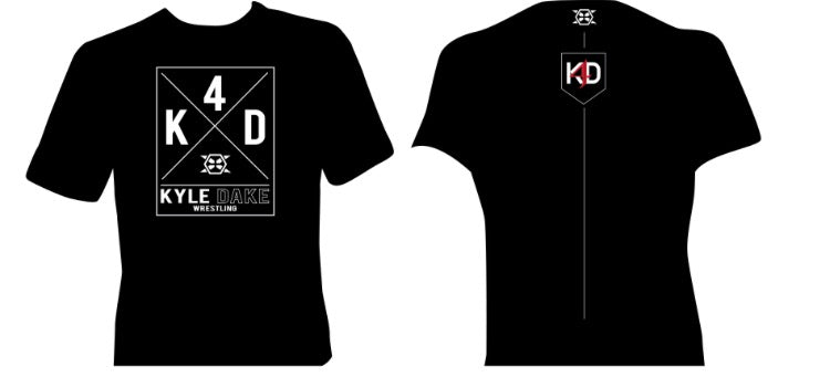 KD4 Logo Tee (Black) - X-Athletic