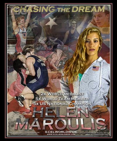 Helen Maroulis Limited Edition Signed Lithograph /750