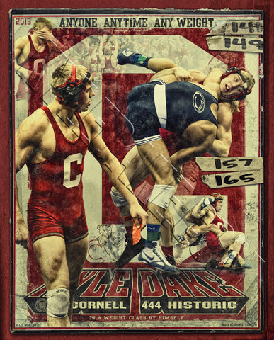 Kyle Dake Autographed Lithograph, Limited Edition /2013 - X-Athletic