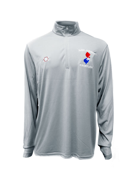 1/4 Zip Embroidered Pullover
