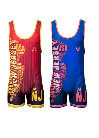 NJ National Team Singlet