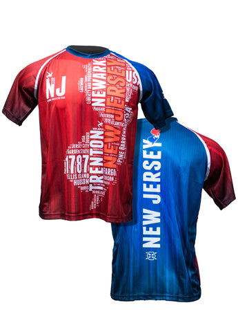 NJ Team Sublimated Tee Shirt