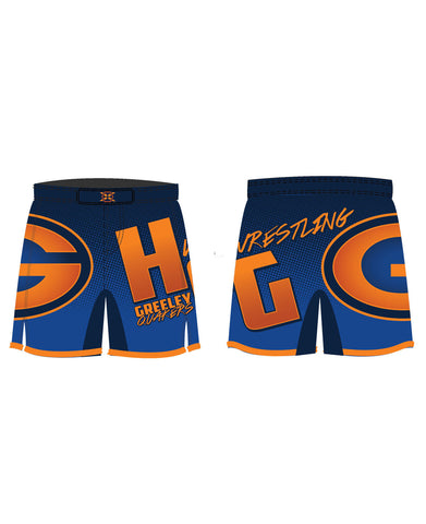 Greeley Fight Shorts - X-Athletic