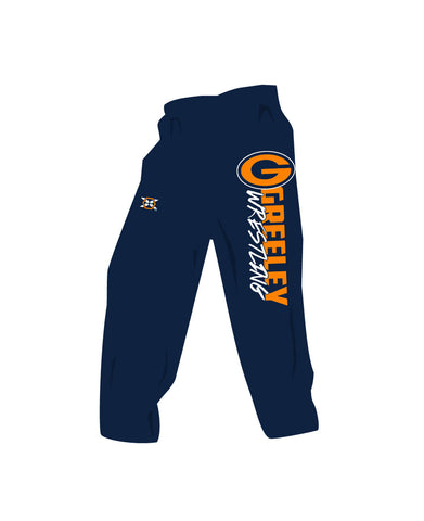 Greeley Wrestling Sweat Pants - X-Athletic